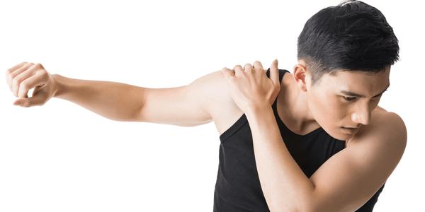 dor no ombro ao atingir a sobrecarga