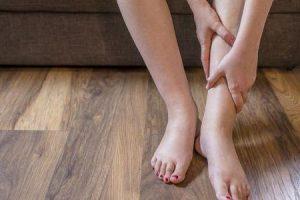edema do tornozelo