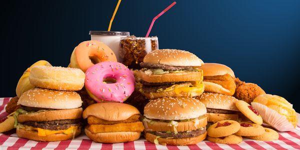 efeitos de junk food em seu filho