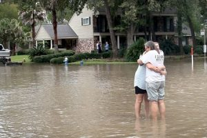 efeitos na saúde do furacão e inundações