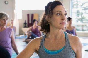 exercício de dieta e yoga para hipercolesterolemia