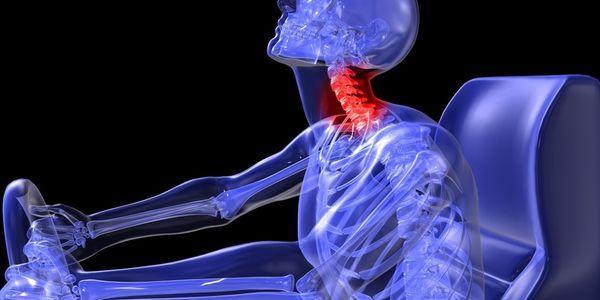 fratura no pescoço ou pescoço quebrada