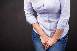 incontinência de stress feminina