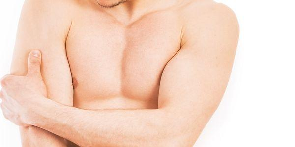 inflamação ou tensão do tendão do tríceps