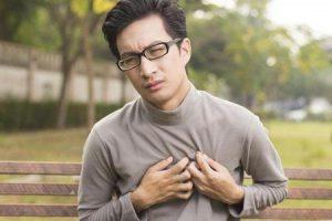 o que causa peso no peito com jogging
