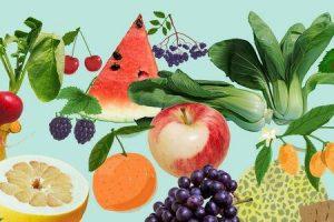por que frutas e vegetais da época são mais benéficas