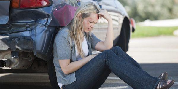 relatório de trauma e acidente
