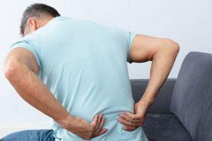 síndrome de dor nas costas
