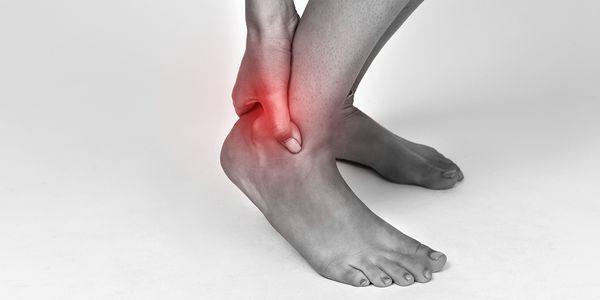 tendinite da articulação do tornozelo ou tendinite