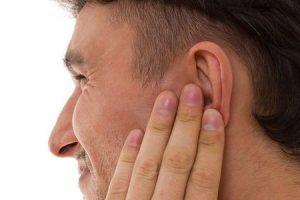 ternura no ouvido externo