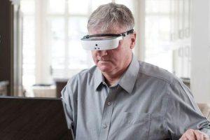 vidro do google para deficientes e idosos
