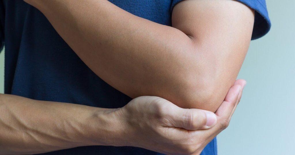 lidando com dor nas articulações do cotovelo