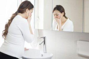 complicações da doença de manhã